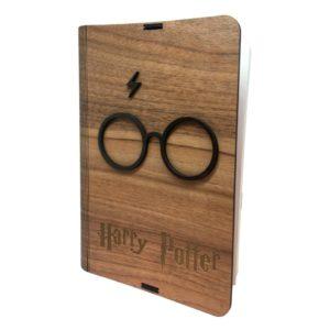 Protector de libros bood Harry Potter minimalista
